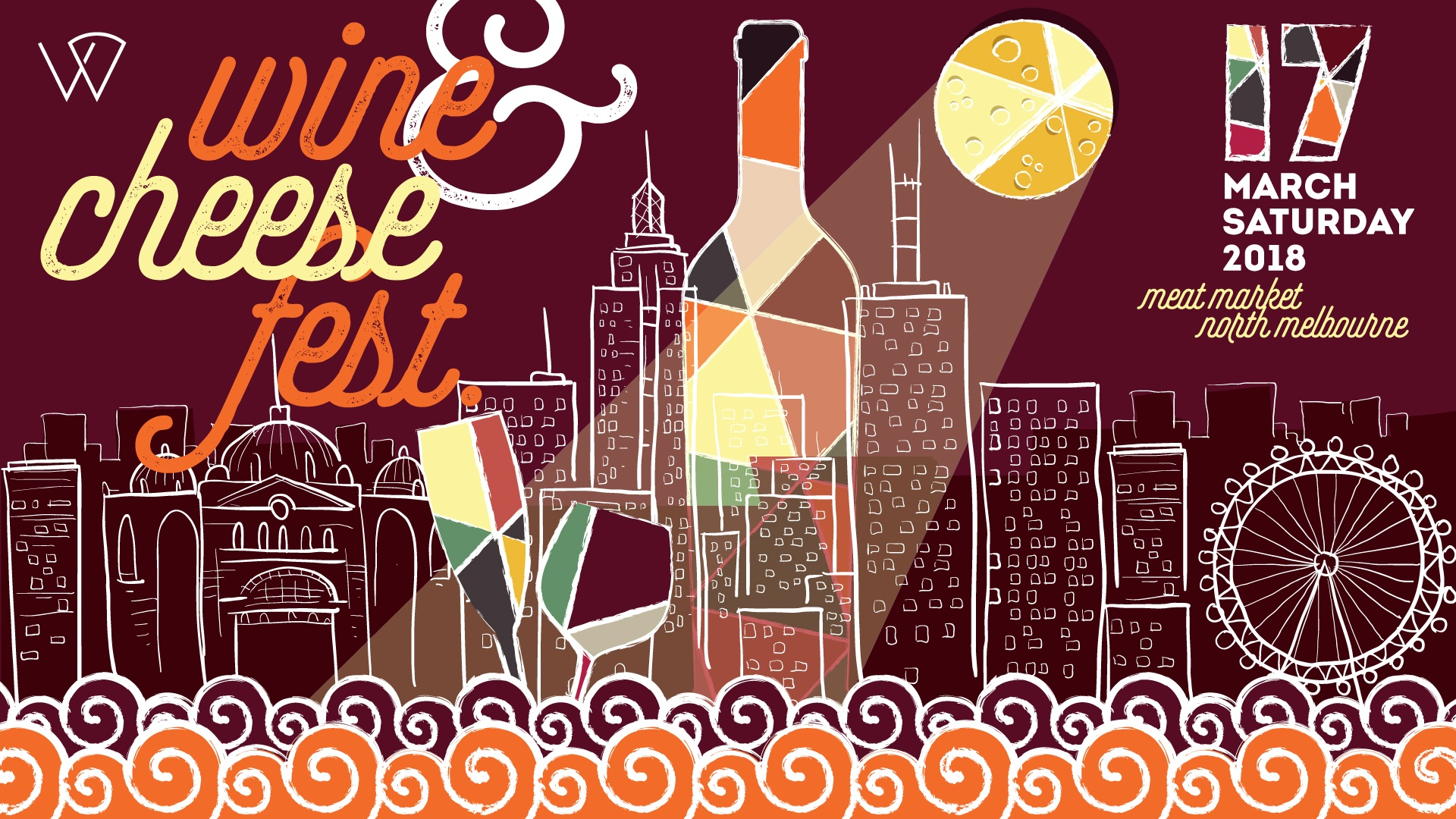 Wine & Cheese Fest @ the Meat Market 2018