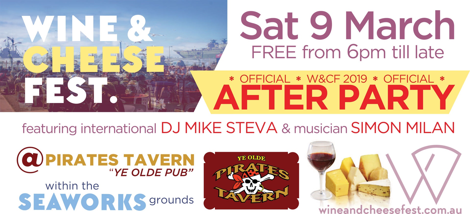 Live Music and DJ's - Wine and Cheese Fest